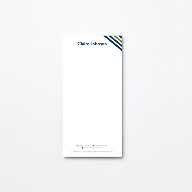 Parallel Tear Off Notepad