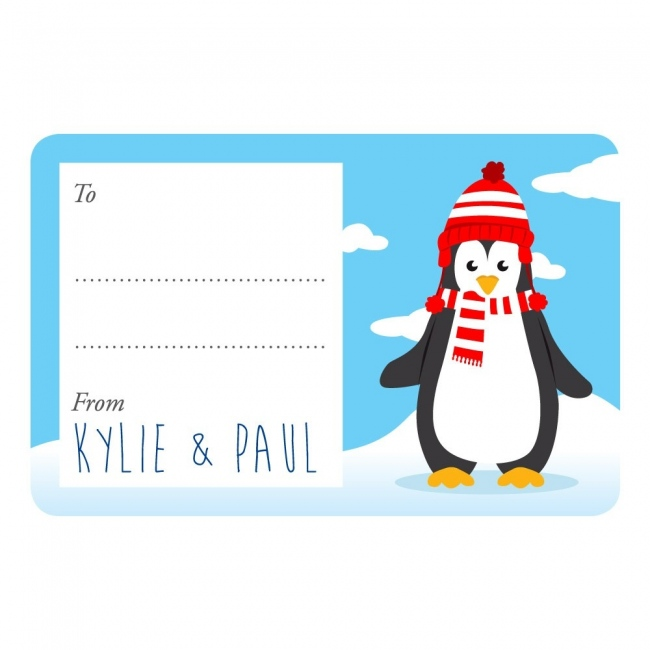 Penguin Gift Labels