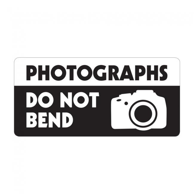 Photographs Do Not Bend - Pre Designed Labels