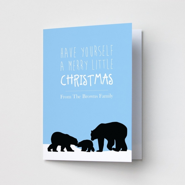 Premium Christmas Cards - Bears