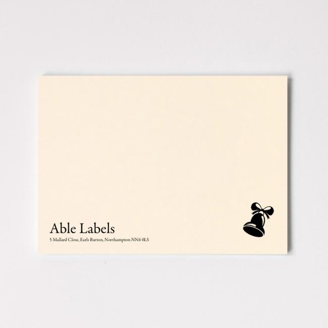 Premium Traditional Serif & Motif Correspondence Cards