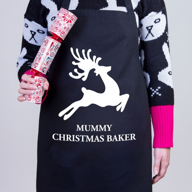 Reindeer - Christmas Personalised Apron