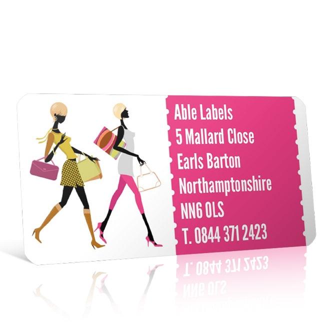 Pre Designed Fashion Address Label on A4 Sheets