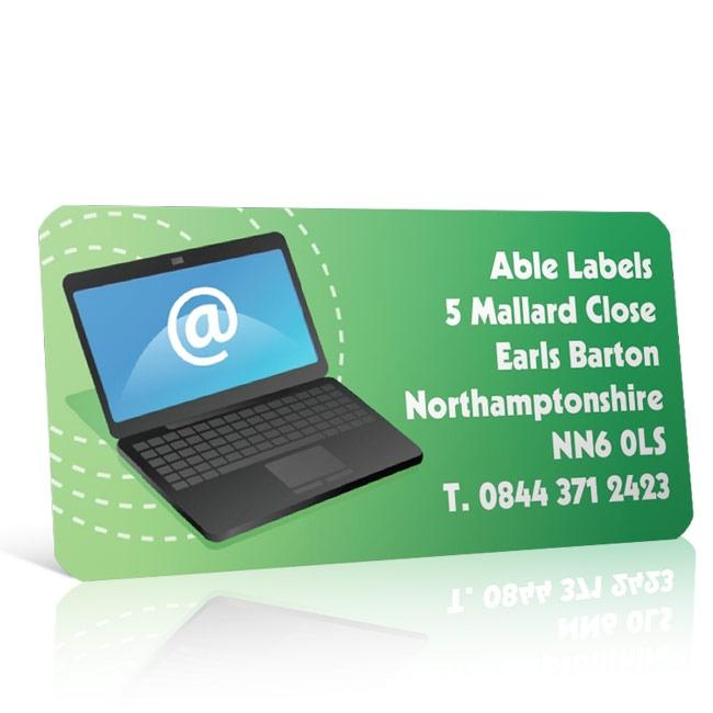 Pre Designed Computer Address Label on A4 Sheets