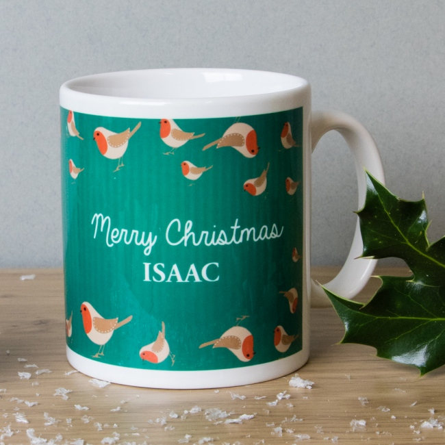 Robin - Christmas Mug