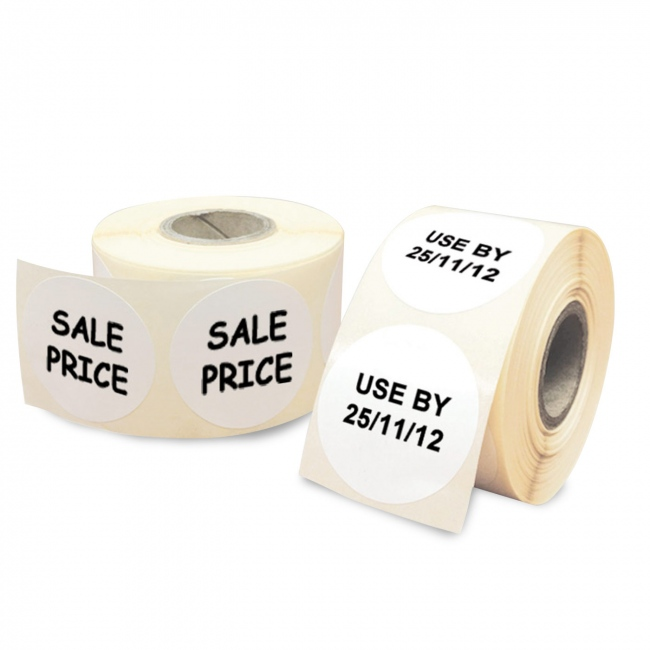 Round Roll Labels