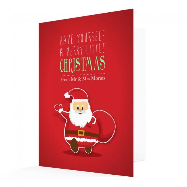 Premium Christmas Cards - Santa