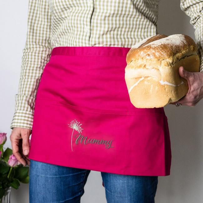 Embroidered Half Apron / Apron Skirt