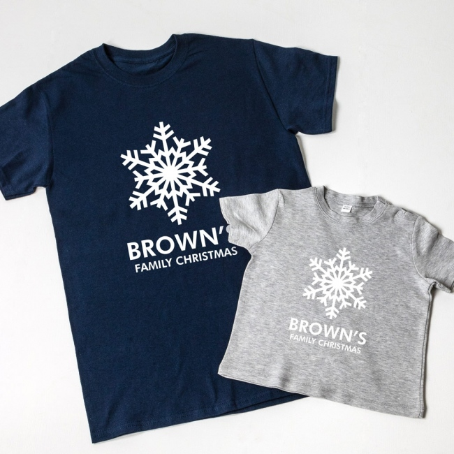 Snowflake Family T-Shirts