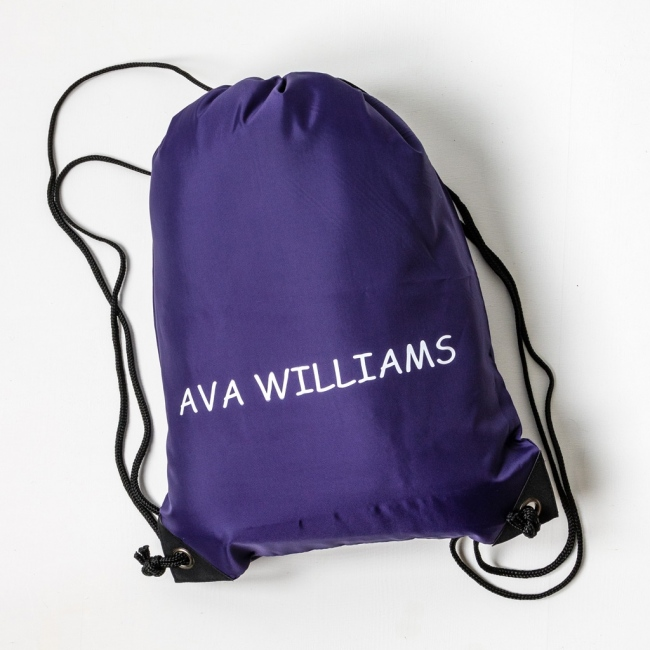 ca7d95e175d Personalised Kit Bag For PE, Gym or Sports - Able Labels
