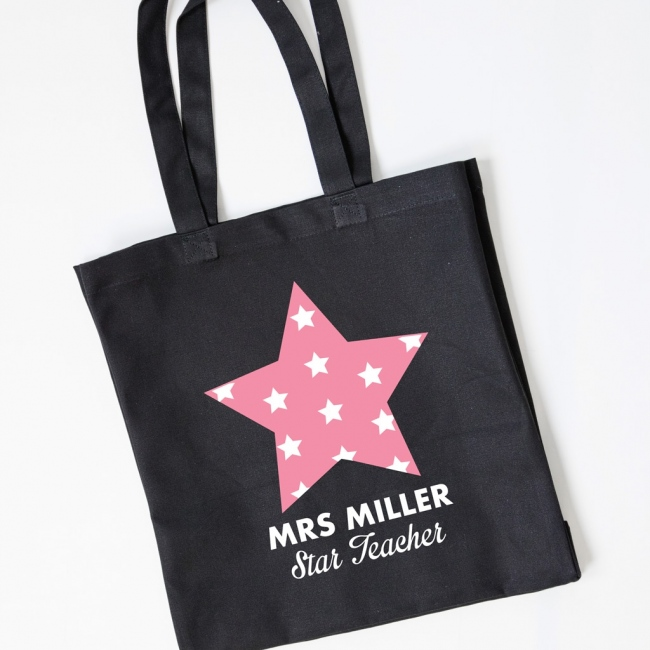 Teacher Gift Tote Bag - Star Teacher