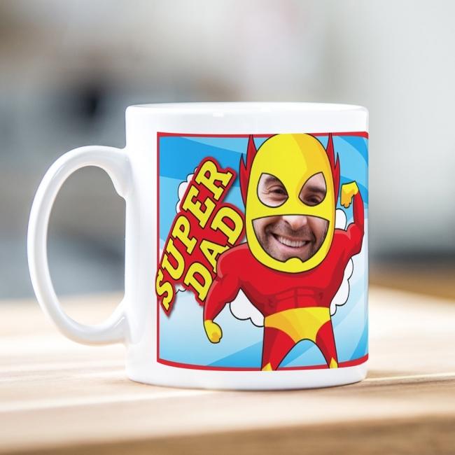 Super Dad Photo Mug