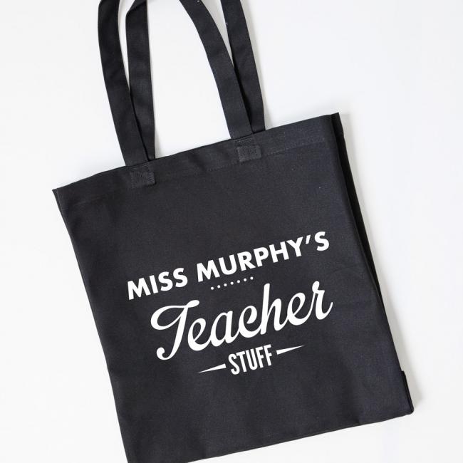 Teacher Gift Tote Bag - Teacher Stuff