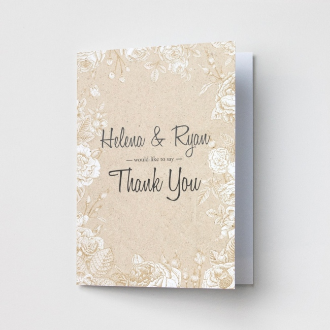 Textured - Thank You Cards