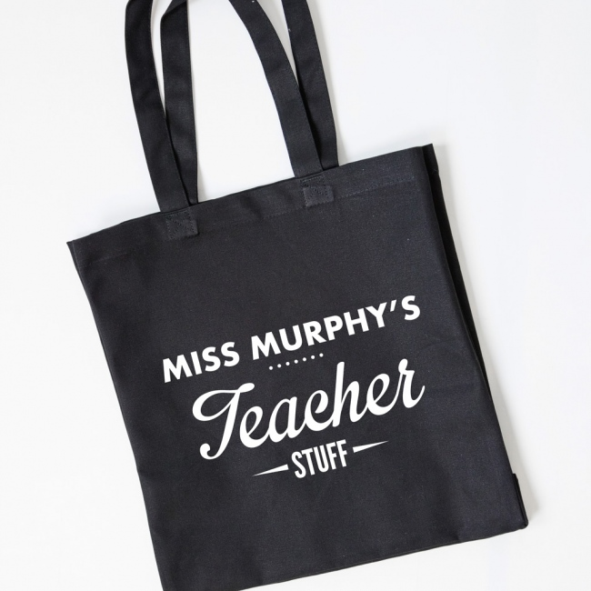Teacher Gift Tote Bag - Teacher Stuff