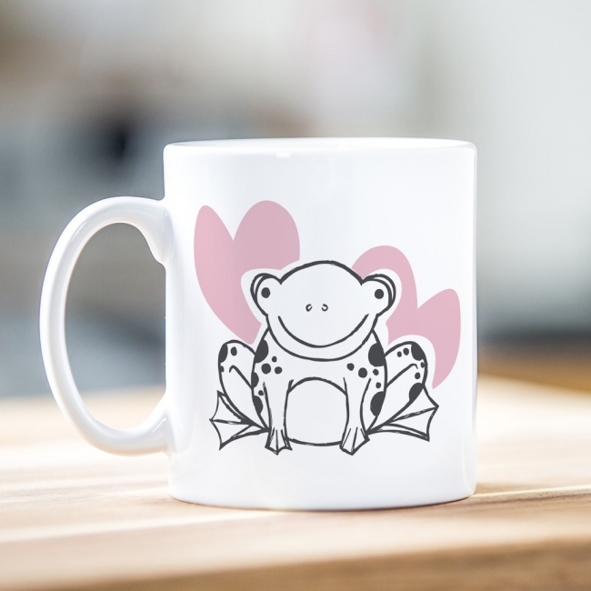 Valentine's Day Mug - Toad