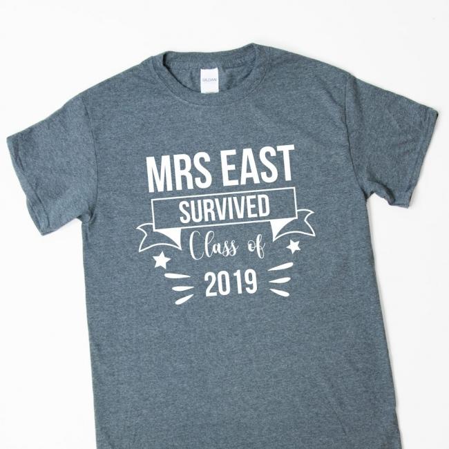 Teacher Gift T-Shirt - Survived