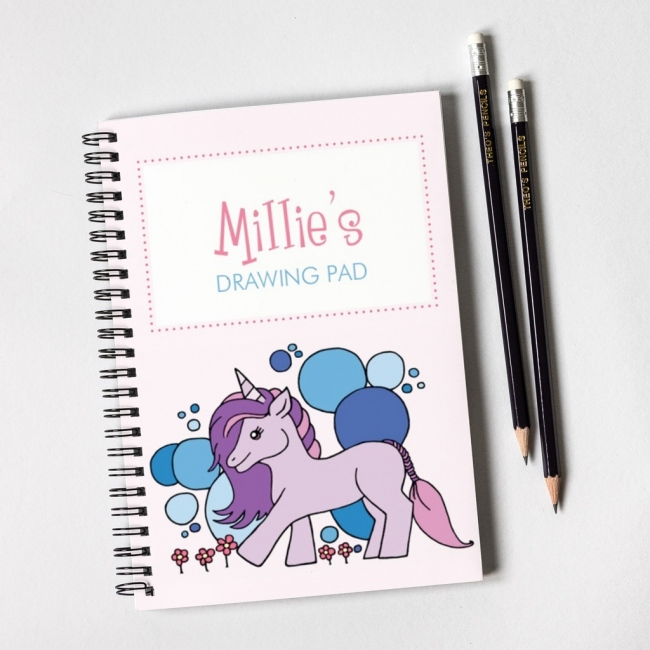 Purple Unicorn Notebook & Pencil Gift Set