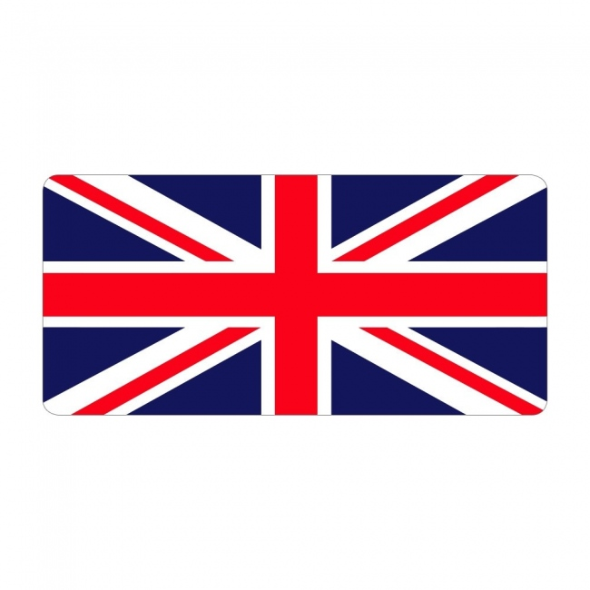 Union Jack - Pre Designed Labels
