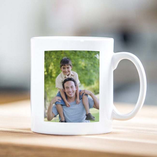 World's Best Daddy Father's Day Photo Mug