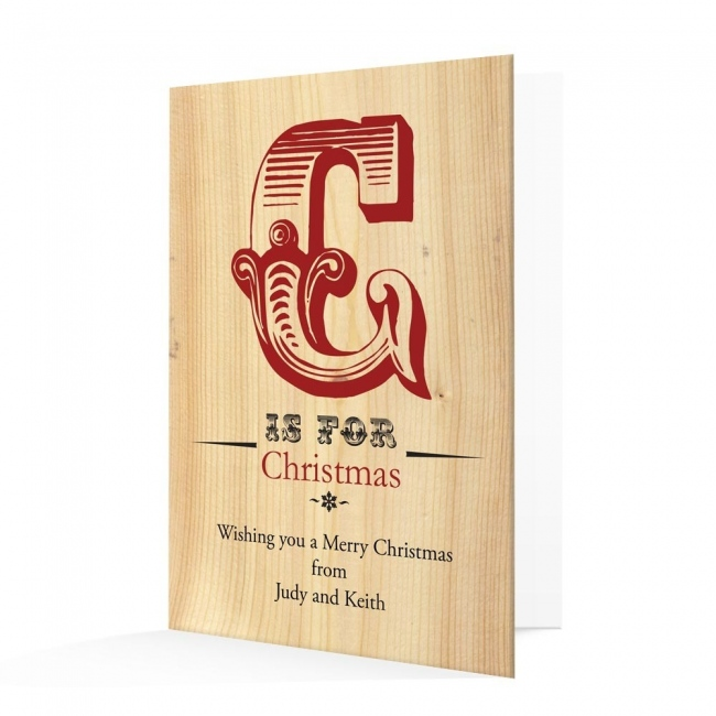 Premium Christmas Cards - C is for Design