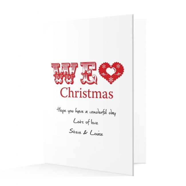 Premium Christmas Cards - We Love Design