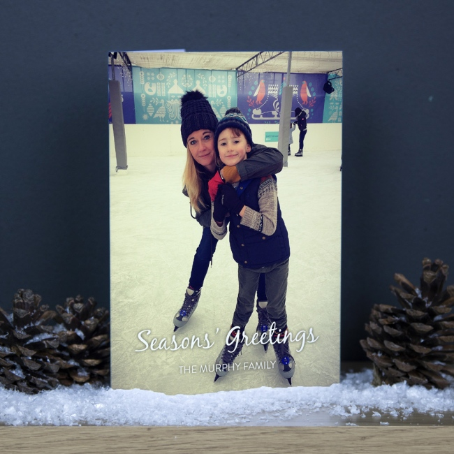 Premium Christmas Cards - Photo Upload