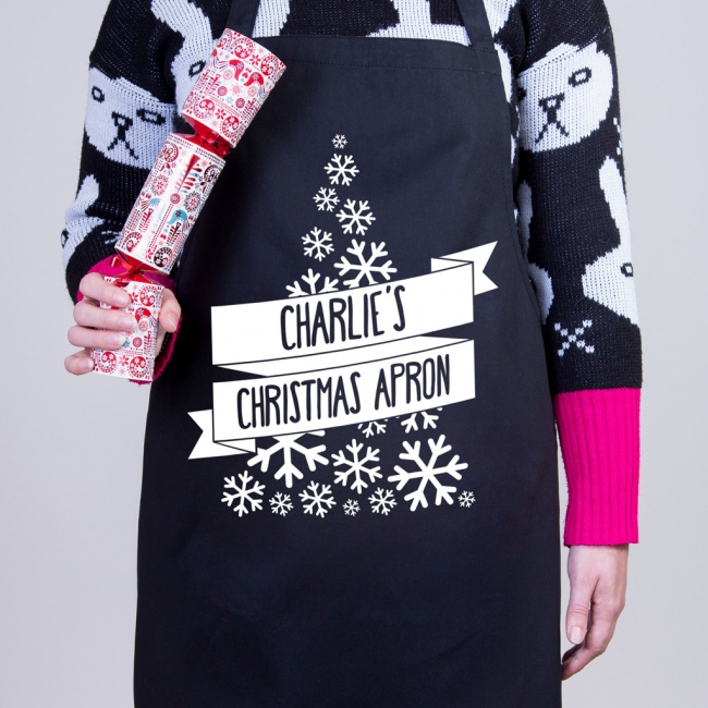 Personalised Christmas Apron - Christmas Tree