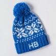 Personalised Kids Beanie Hat - Blue