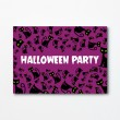 Halloween A6 Invitation - Cat