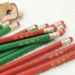 Christmas Wooden Graphite Pencils