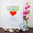 True Love - Personalised Art Print