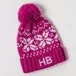 Personalised Kids Beanie Hat - Pink