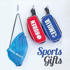 Personalised Sports Gifts