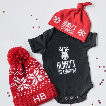 Personalised Christmas Baby Gifts