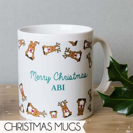 Personalised Christmas Mugs
