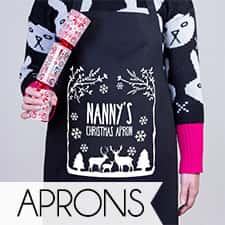 Personalised Christmas Aprons