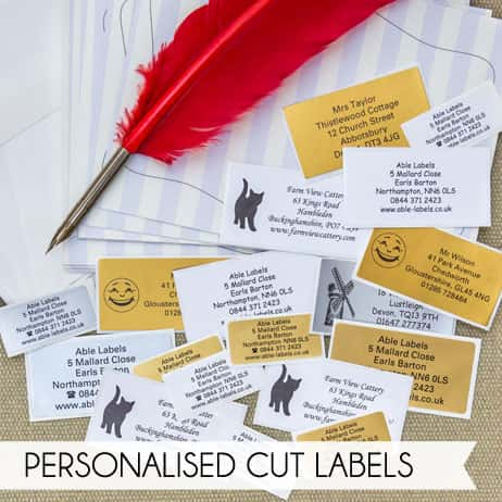 Personalised Cut Labels