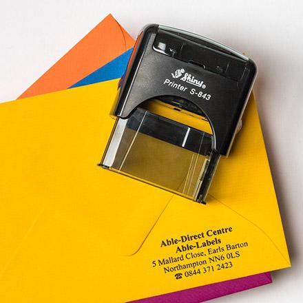 Rubber Address Stamp