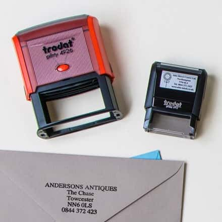 Rubber Address Stamps