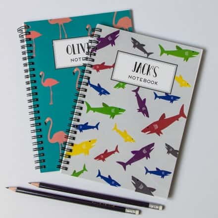 Personalised Notebook Sets