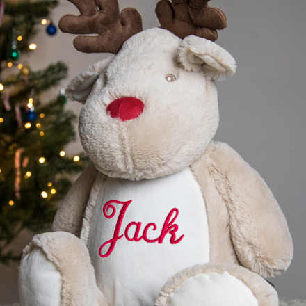 Personalised Embroidered Soft Toys